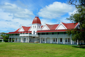 The Royal Palace of the Kingdom of Tonga  located  in Nuku' alofa