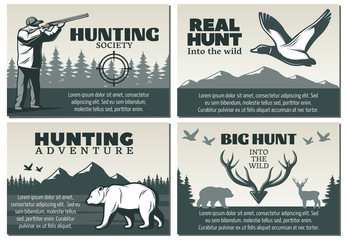 Hunting Society Design Set