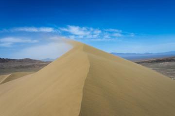 Sand dune, desert