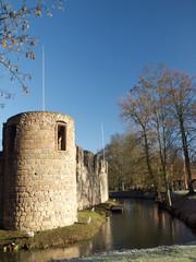 Turm der Burgruine Bad Vilbel