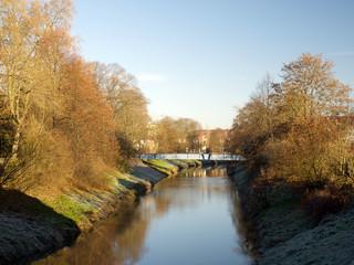 Herbst an der Nidda