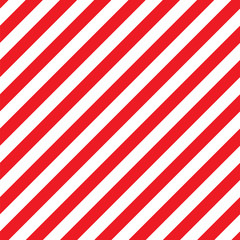 Seamless Christmas Stripe Pattern. Vector Image.