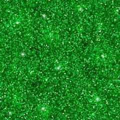 Green glitter seamless pattern. Vector
