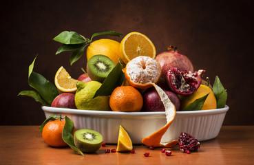 still life,frutti autunnali