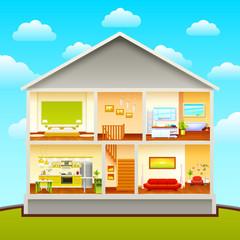 House Interiors Design Composition
