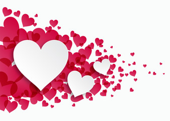 Valentine_Heart Pattern #Vector Graphic