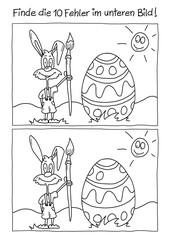 Fehlerbild Ostern