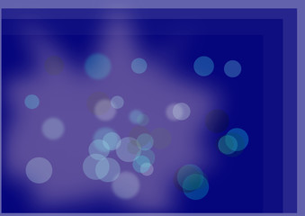 Abstract blue window circles background