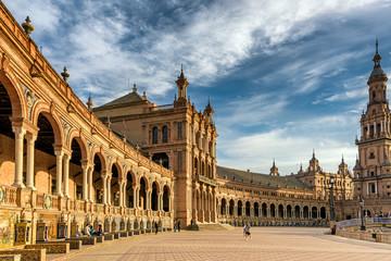Landmark Spanish Square located in Sevilla, Spain