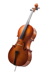 cello isolated on wihte