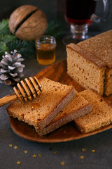 French quick honey bread
