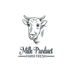 Logo milk product