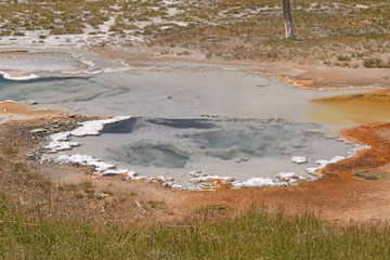 Hot Spring in a Thermal Area