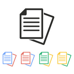 Document - vector icon.