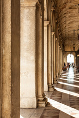hall next to Piazza San Marco