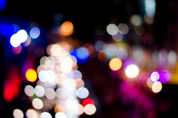 Colorful background in bokeh.