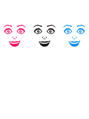Design 3 girlfriends female feminine girl sexy face grin comic cartoon text font logo design cool crazy crazy confused silly silly comical disturbed