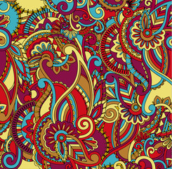 Abstract pattern made up of flower.Vector