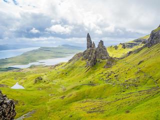 Old man of Storr at Skye Landscape