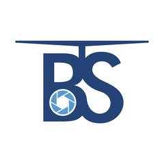 b and s drone logo