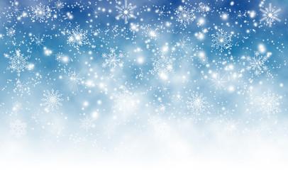 image of beautiful snowflakes