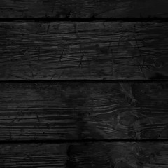 Monochrome background with the texture of a old wooden planks, d