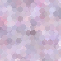 Abstract background consisting of pink, gray hexagons. Geometric design for business presentations or web template banner flyer. Vector illustration