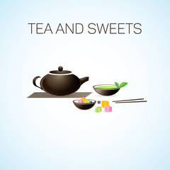 Tea and Sweets.