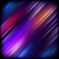 Abstract background with colorful lines. EPS 10