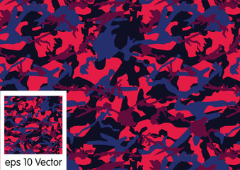 Camouflage pattern, vector