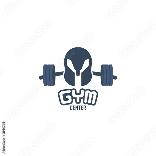 Quot warrior gym fitness vector logo design template immagini