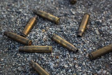 rifle bullet shell
