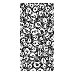 Animal print frame. Pattern wallpaper texture skin theme. Vector illustration