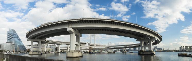 東京湾景「レインボーブリッジ」