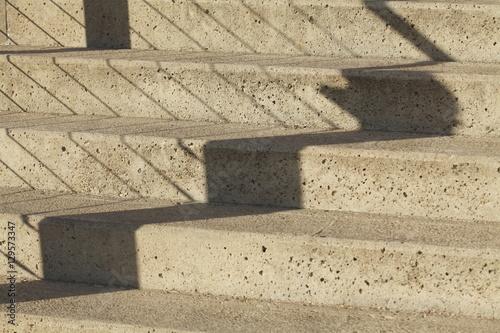 betontreppe mit schatten stockfotos und lizenzfreie bilder auf bild 129573347. Black Bedroom Furniture Sets. Home Design Ideas