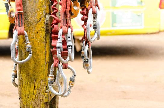 climbing and zipline equipment