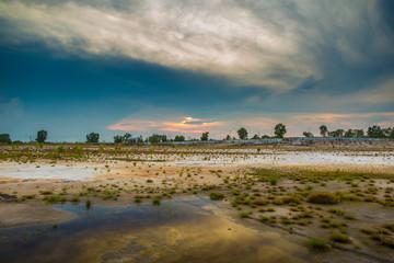 Field Landscape shot
