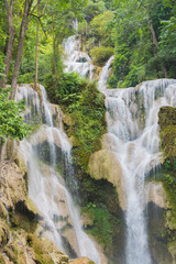 Kuang si water fall in Luang prabang,Laos