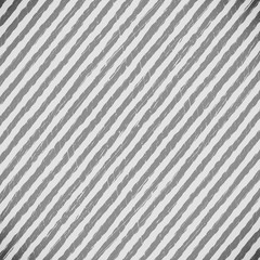 Gray and white striped background.