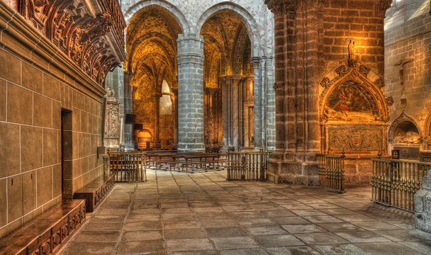 Cathedral of Avila, Spain