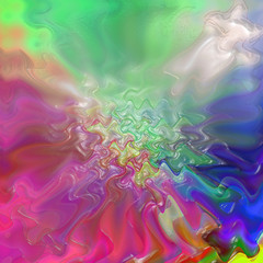 Abstract coloring background of the pastels gradient with visual wave,pinch and plastic wrap effects