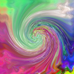 Abstract coloring background of the pastels gradient with visual wave,pinch,twirl and plastic wrap effects