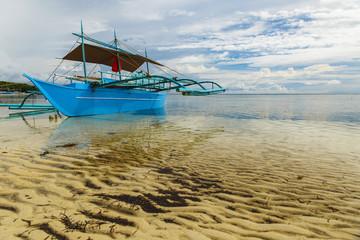 blue canoe-sipalay-philippines