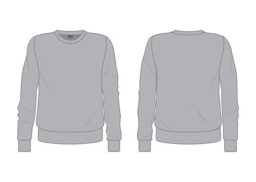 Men's grey sweatshirt