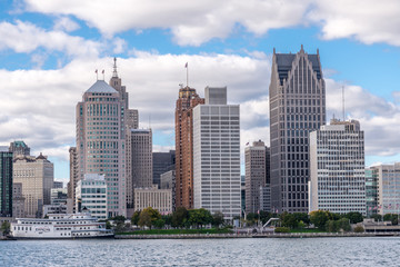 Detroit buildings