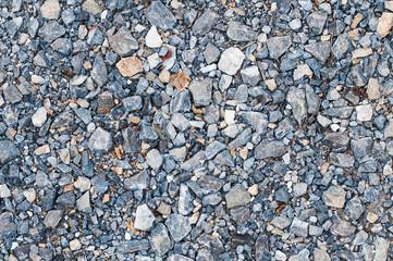 Granite gravel background and texture