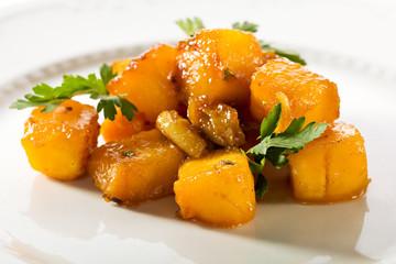 Roasted Pumpkin Dish