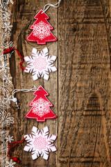 Addobbi natalizi Alberello e fiocco di neve