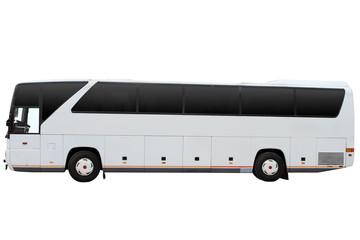Modern tour bus.