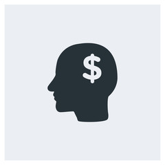 Head money icon